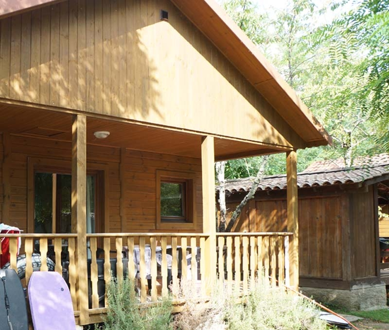Camping Actinidias 3 *** - Chalet 5 pers.